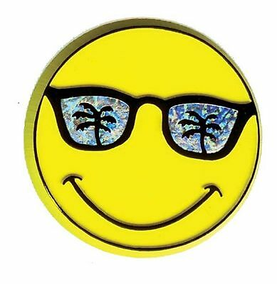 Smiley Face with Sunglasses Fridge Magnet