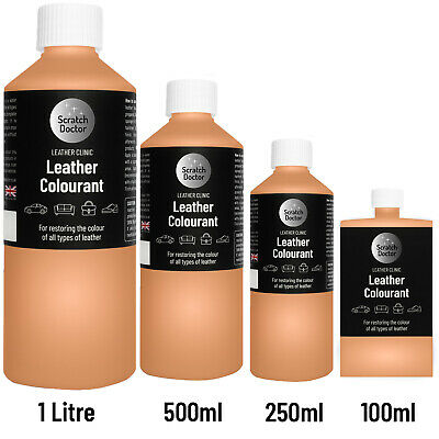 TAN Leather Colourant for repairs & restorations. / Pigment Stain Dye