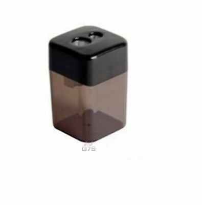 Pencil Sharpener 2 Holes Canister- For sharp edges- High Quality
