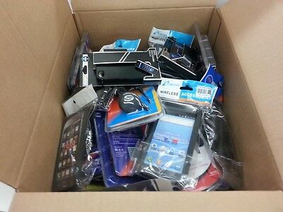Mixed Lot of Cellphone Home&Car Chargers, Cases