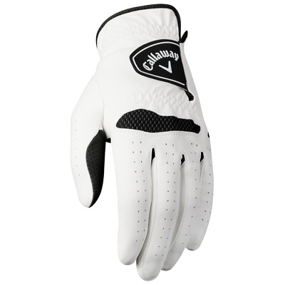NEW! Callaway Tech Series Leather Golf Medium Left Gloves for Right Handed Mens