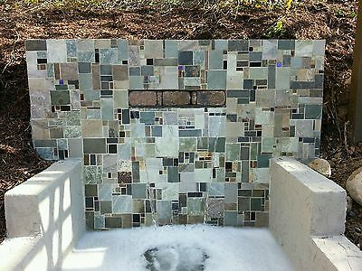 Slate Stone Mosaic Random Tiles Kitchen Backsplash Free