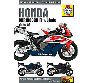 Honda CBR1000RR Fireblade 2004 - 2007 Haynes Workshop Service Manual