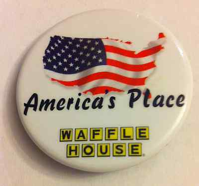 Waffle House Pin Button America's Place