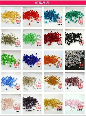 Free Shipping 100pc Swarovski Crystal 6mm 8mm Bicone Bead #5301 DIY Jewelry Make