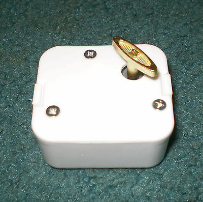 Music Box Movement - Many New Songs - 18 Note Sankyo - Musical Gift or Craft
