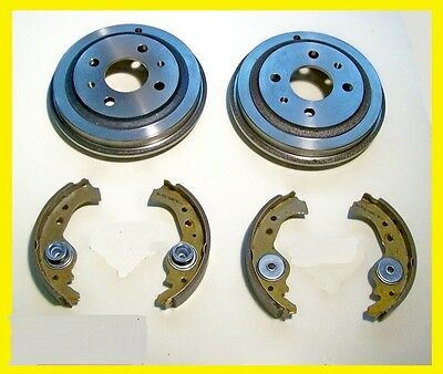 FIAT 600 D / E - Ganasce + Tamburi / Brake Drums + Shoes