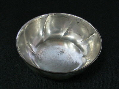 ANTIQUE GERMAN GERMANY SILVER SILVER PLATED LITTLE MINI BOWL 18.9 GR x