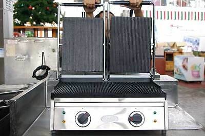 Ozti Double 2-Handle Panini Grill
