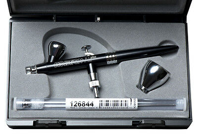 Harder & Steenbeck - Evolution Alplus 2 In 1 Gravity Feed Aluminium Airbrush