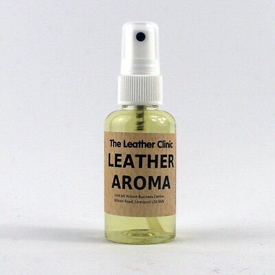 New Leather Aroma Spray.  For that New Leather Fragrance