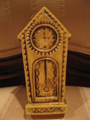 Vintage Grandfather Clock Holiday Christmas Ornament For Clock Maker-Collector