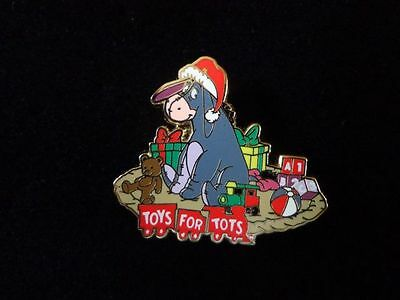 Disney Pin DSF Toys for Tots 2013 Eeyore Pin #2 - Le500