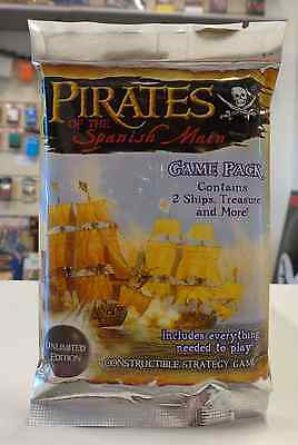 Game Gioco Pirati Navi UNLIMITED EDITION PIRATES OF SPANISH MAIN Booster Pack