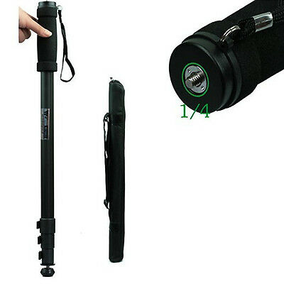"Portable 67"" Pro Camera Video Tripod Monopod WT-1003 4-Sections Leg with Case"