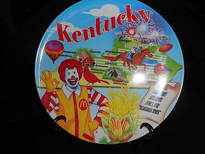 Mcdonalds Kentucky Collector Plates Love it Must Have Gift 2007