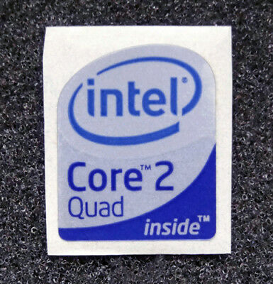 Intel Core 2 Quad Inside Sticker 19 x 23mm Case Badge For Desktop