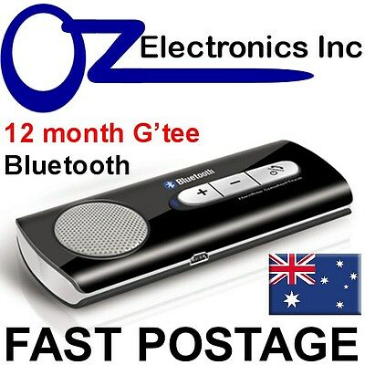 Bluetooth car kit handsfree compatible with iPhone 6 7 Samsung Edge + Xperia NEW