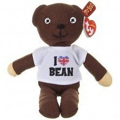 Ty Mr Bean Teddy - Soft Plush Toy 10 Inch (26Cm)  Other Designs Available - Bnwt