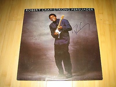 Robert Cray Autographed Signed Strong Persuader Vinyl LP