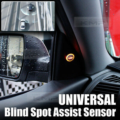 Blind Spot Assist Warning LED Sensor Light Back Up Alarms Buzzer For TOYOTA