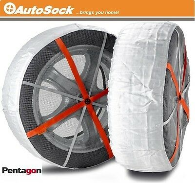 Brand New Genuine AUTOSOCK Snow Socks AS540 Winter Traction Aid