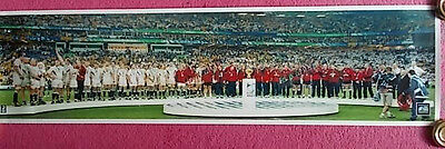 Rugby Union Print - 2003 World Cup Winners Medals Presentation