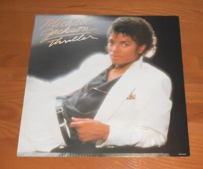Michael Jackson Thriller 1982 Flat Square Promo Poster 12 x 12