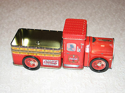 2003 Coke Coca Cola Tin Pick-up Truck, TOY with wheels MINT