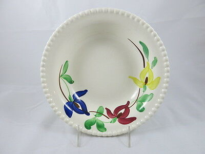 Blue Ridge Southern Potteries nd Serving Bowl red blue yellow flowers