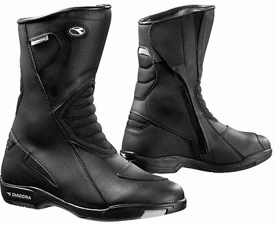 Forma Touring motorcycle boots, mens, black, waterproof road street riding gear