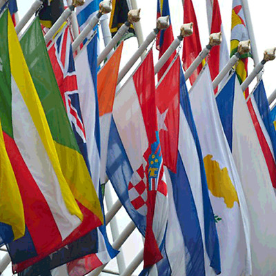 Giant Flags Of The World USA Union Jack England Spain Italy Wales Mexico Brazil