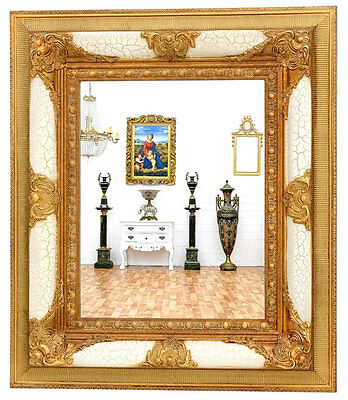 Miroirs meubles d coration xix me art antiquit s for Grand miroir blanc baroque