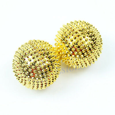 2x Magnetic Pain Relief Massage hand Palm Acupuncture Ball Stimulation Needle