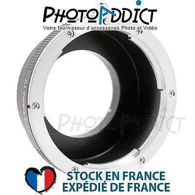 Bague d'adaptation objectif Canon EOS / EF vers boitier Micro 4/3