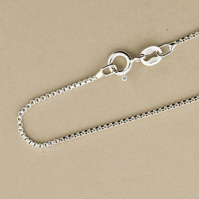 """.925 Sterling Silver Box Chains. Wholesale Italian Chains.16"""",18"""",20"""",22"""",24"""",30"""