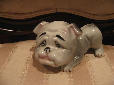 Vintage Bulldog, American Bulldog, English Bulldog Figurine