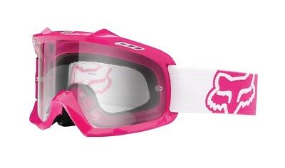 Fox Racing Mx 2015 AIRSPC Youth Kids Girls Motocross Goggle Pink/White Goggles