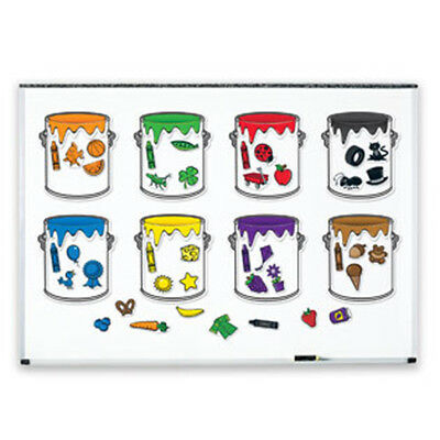 Learning Resources - Splash of Colour Magnetic Whiteboard Paint Can Sorting Set