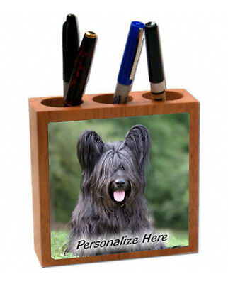 Skye  Terrier   # 3   Personalized  Pencil and Pen Holder