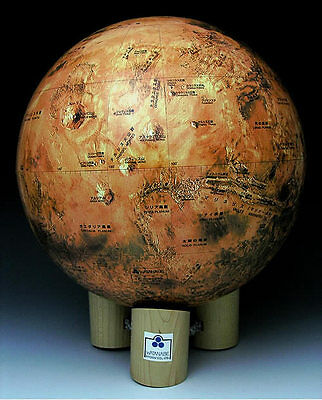 A one-26,000,000th Mars Globe (Japanese edition)
