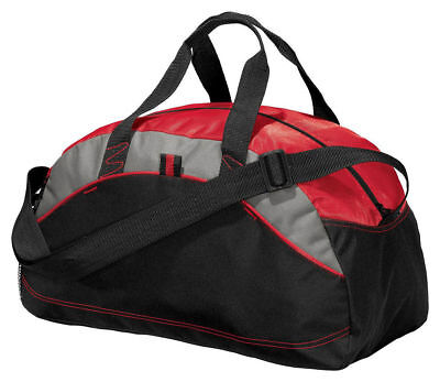 NEW Port & Company Improved Small Duffel Bag Gym Travel Carry On Bag BG1060
