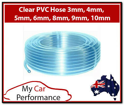 Clear Plastic PVC Hose Pipe Tube Air Water Windscreen Washer Food Home Pond
