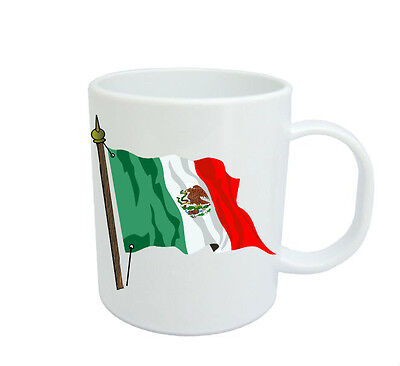 Mexican Flag  Coffee Mug Free Personalisation Mexico