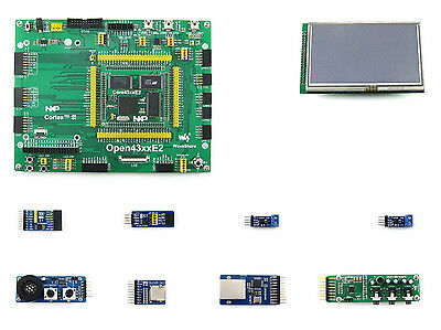 NXP LPC4357 LPC4357FET256 Dual Core Cortex-M4/M0 ARM LPC Development Board+LCD