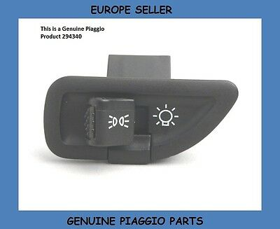 Piaggio Beverly 500 Genuine Light Switch On/Off Button