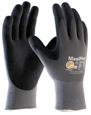 ATG Maxiflex Ultimate Foam Nitrile General Purpose Gloves AUTH DEALER (12 PACK)