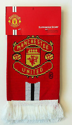 Manchester United Double Champ Jacquard Scarf BNWT Champions