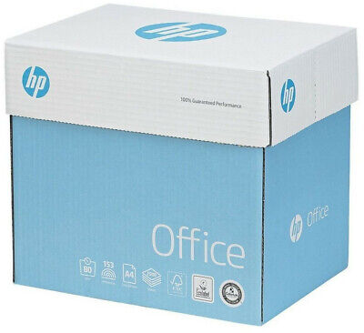 HP Office Quickpack Paper – A4 White 80gsm – 2500 Sheets