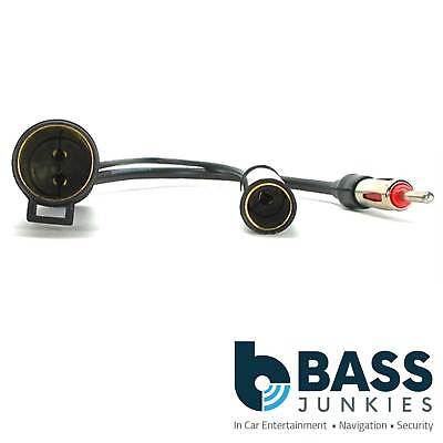 Autoleads PC5-87  Nissan Car Stereo Radio Aerial Antenna Adaptor Cable Lead